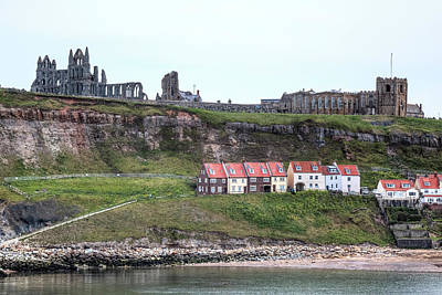 Whitby Abbey Photograph - Whitby - England by Joana Kruse