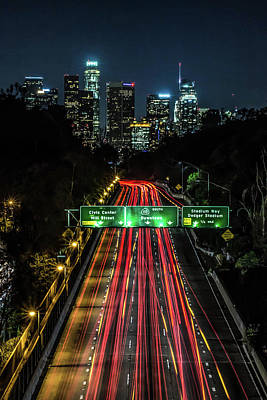 Photograph - 110 Freeway by April Reppucci