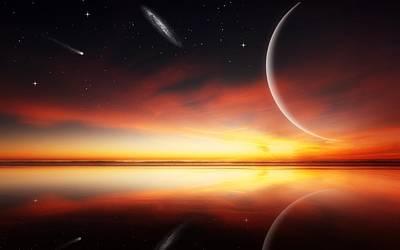 Fantasy Digital Art - Landscape by Super Lovely