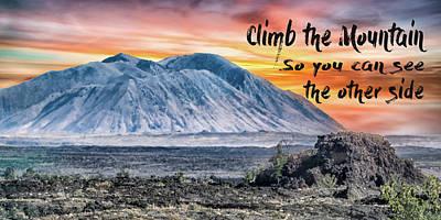 Photograph - 11002 Climb The Mountain by Pamela Williams