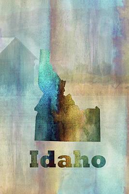 Digital Art - 11009 Idaho by Pamela Williams
