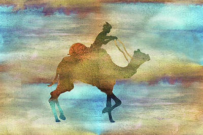 Digital Art - 11012 Camel by Pamela Williams