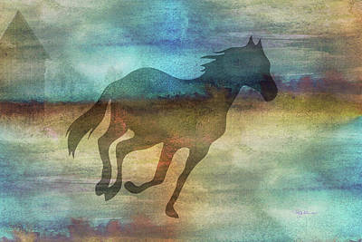 Digital Art - 11037 Horse by Pamela Williams