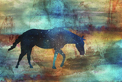 Digital Art - 11042 Horse by Pamela Williams