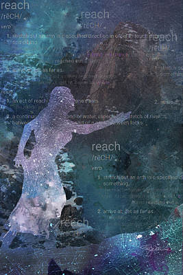 Mixed Media - 11043 Reach by Pamela Williams
