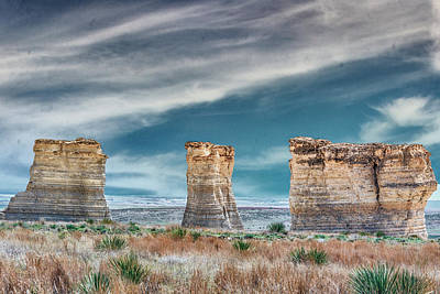 Photograph - 11049 Monument Rocks by Pamela Williams