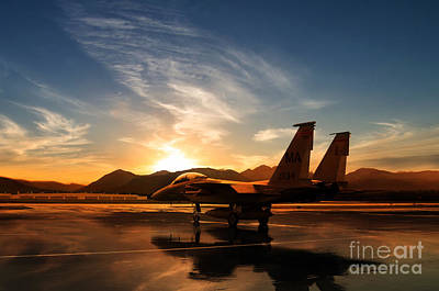 F15 Wall Art - Digital Art - 110805-f-yz067-028 by J Biggadike