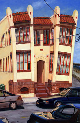 Painting - 111 Oriental Avenue by Suzn Art Memorial