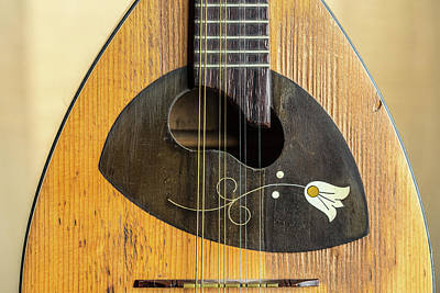 Photograph - 11.1845 Framus Mandolin by M K  Miller