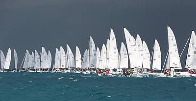 Photograph - Key West Race Week by Steven Lapkin