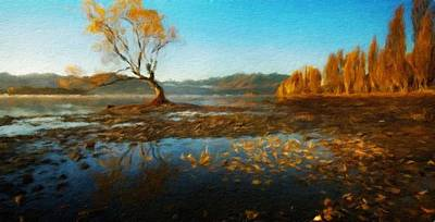Art For Sale Painting - Painting Landscape by Margaret J Rocha