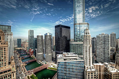 Photograph - 1138 Chicago River View by Steve Sturgill