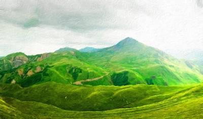 Autumn Painting - Nature Landscape Art by Margaret J Rocha