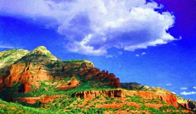 Sun Painting - Nature Oil Paintings Landscapes by World Map