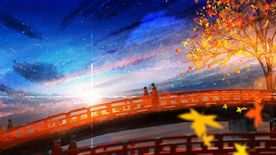 Cloud Digital Art - Original by Super Lovely