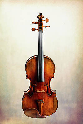Photograph - 117 .1841 Violin By Jean Baptiste Vuillaume by M K Miller
