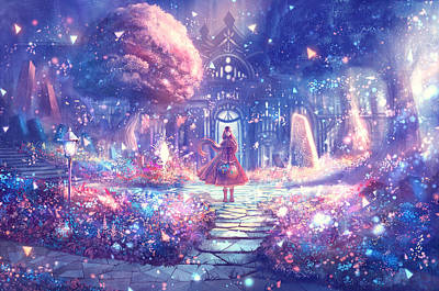 Fantasy Digital Art - Original by Super Lovely
