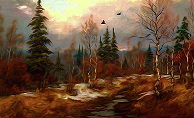 Cloud Painting - Nature Landscape Pictures by Edna Wallen