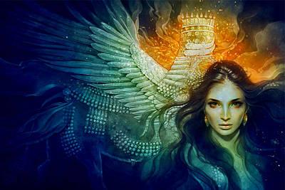 Digital Art Digital Art - Women by Super Lovely