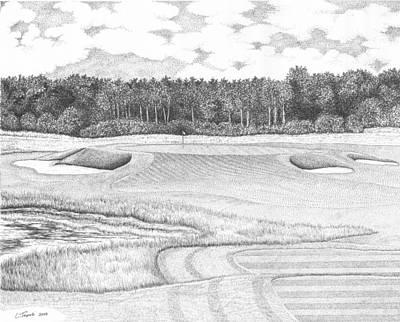11th Hole - Trump National Golf Club Original by Lawrence Tripoli