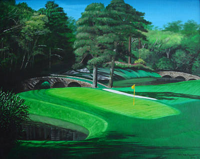 Painting - 11th Hole by Jennifer Hotai
