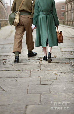 Photograph - 1940s Couple by Lee Avison