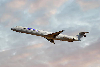 Md Photograph - Alk Airlines Mcdonnell Douglas Md-82 by Smart Aviation