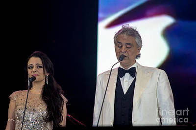 Photograph - Andrea Bocelli In Concert by Rene Triay Photography