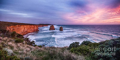 Photograph - 12 Apostles At Sunset II by Ray Warren