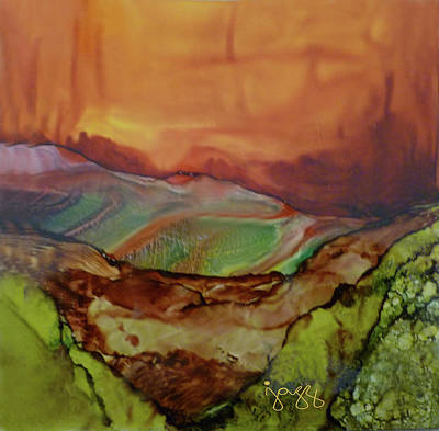 Jazz Art Painting - 12-b Landscape by Jazz Art
