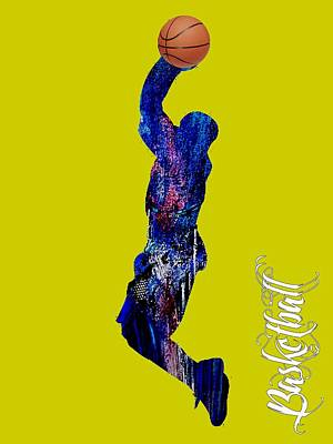 Basketball Mixed Media - Basketball Collection by Marvin Blaine