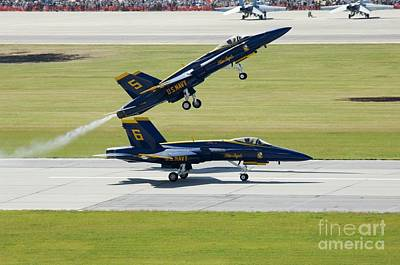 Painting - Blue Angels by Celestial Images