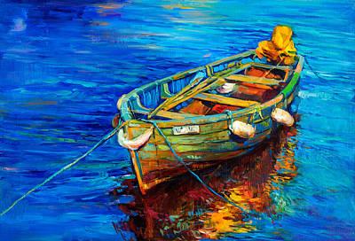 Creativity Drawing - Boat By Ivailo Nikolov by Boyan Dimitrov