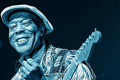 Legends Mixed Media - Buddy Guy Collection by Marvin Blaine