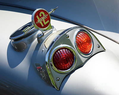 Photograph - 12 Cylinder Silver Arrow by Dennis Hedberg