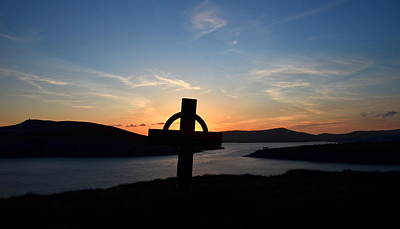 Photograph - Dingle Sunset by Barbara Walsh