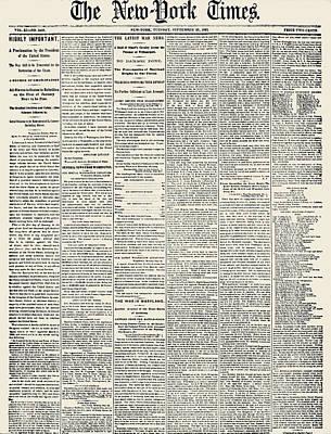 Photograph - Emancipation Proclamation by Granger