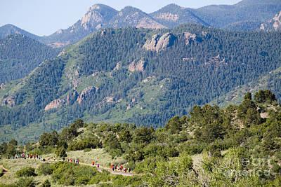 Photograph - Garden Of The Gods Ten Mile Run In Colorado Springs by Steve Krull