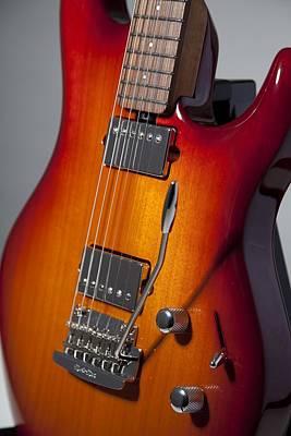 String Instruments Photograph - Guitar by Mariel Mcmeeking