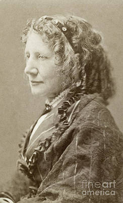 Photograph - Harriet Beecher Stowe  by Granger