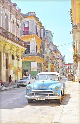 Havana Cuba Art Print by Chris Andruskiewicz