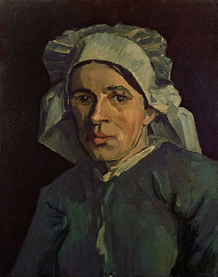 Painting - Head Of A Woman by Vincent van Gogh