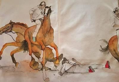 Painting - Il Palio Vita Album by Debbi Saccomanno Chan