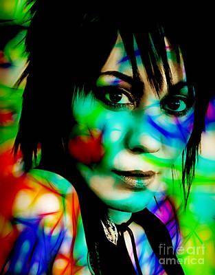 Mixed Media - Joan Jett Collection by Marvin Blaine