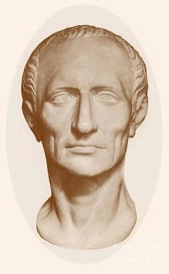 Dictator Photograph - Julius Caesar, Roman General by Photo Researchers