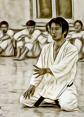 Kung Fu Mixed Media - Karate Masters Collection by Martial Arts  Fine Art