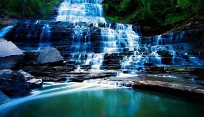 Tranquil Digital Art - Landscape Color by Victoria Landscapes