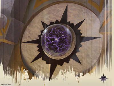 Magician Digital Art - Magic The Gathering by Maye Loeser
