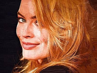 Doppelganger Digital Art - Margot Robbie Art by Best Actors