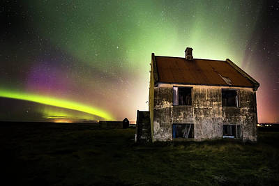 Photograph - Northern Lights Iceland by Gunnar Orn Arnason